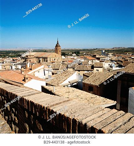 El Buste. Zaragoza province, Aragón, Spain