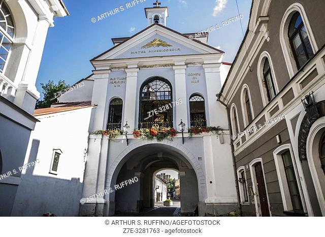 Chapel of the Gates of Dawn, Vilnius, Lithuania, Baltic States, Europe