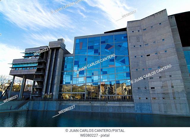 Palacio Euskalduna, Bilbao. Biscay, Euskadi, Spain