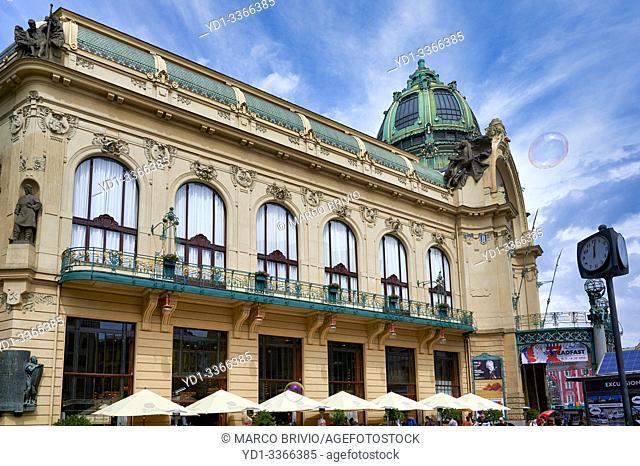 Prague Czech Republic. The Municipal House