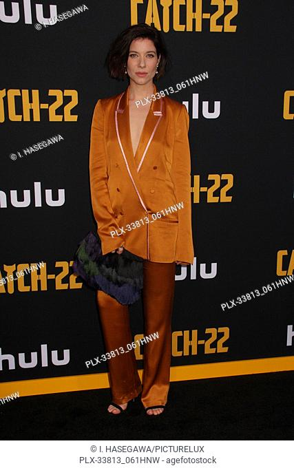 """Tessa Ferrer 05/07/2019 The U.S. Premiere of Hulu's """"""""CATCH-22"""""""" held at The TCL Chinese Theatre in Los Angeles, CA Photo by I"""