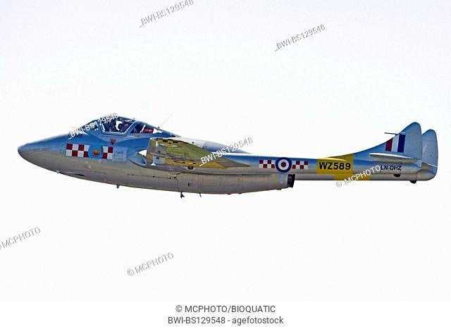 De Havilland DH-115 Vampire at Sola Airshow 2007, Norway