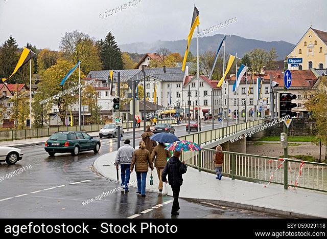 Isar bridge in Bad Tölz