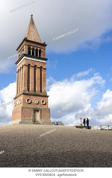 A red brick tower, erected in 1875, on the top of the hill of Himmelbjerget, which at 147 m (482 ft), was until 1847 believed to be the highest natural point in...