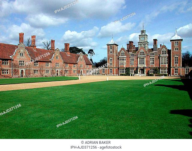 England Norfolk Blickling Hall near Aylsham