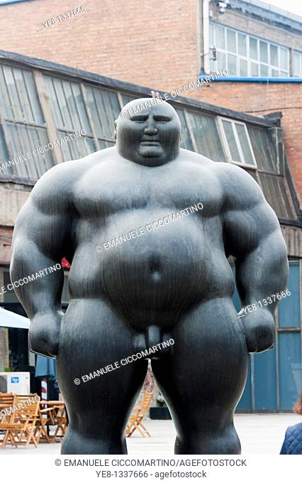 Statue, 798 Art District, Chaoyang District, Beijing, China, Asia