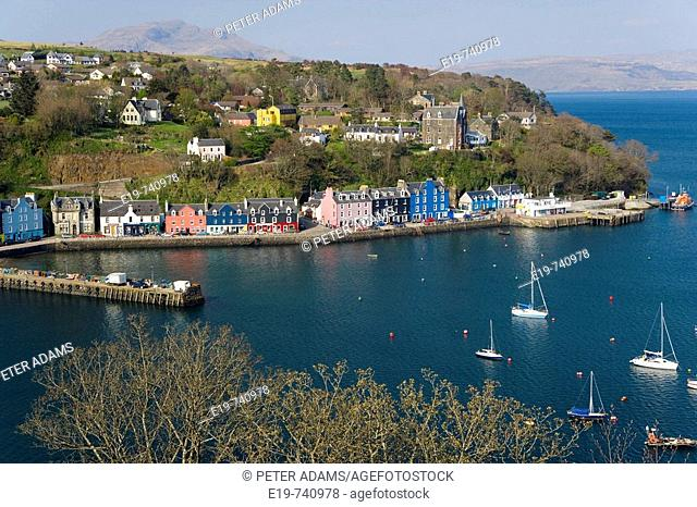 Tobermory, Isle of Mull, Scotland, UK