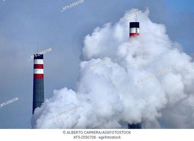 Factory Chimney, Smoke Pollution