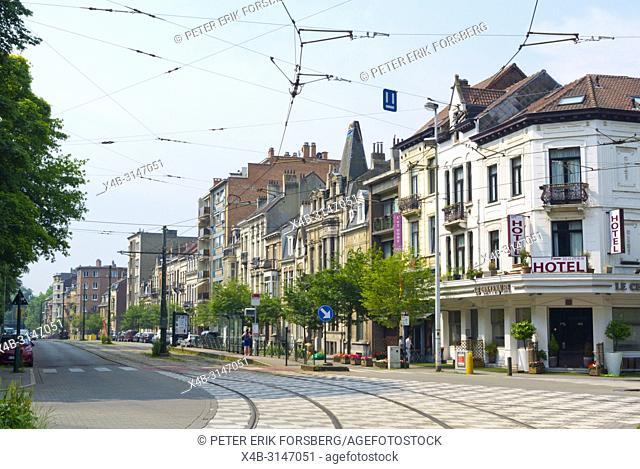 Avenue Jean Sobieski, at Place Saint Lambert, Laeken, Brussels, Belgium