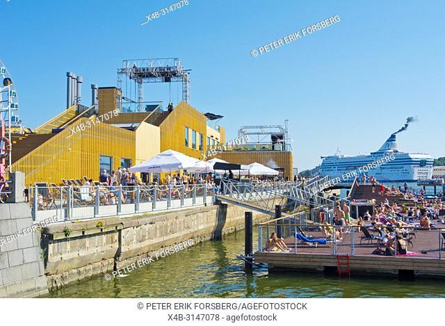 Allas, sea pool, Kauppatori, Helsinki, Finland