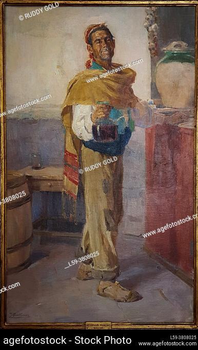 Jose Benlliure Gil (1855-1937). Uncle Clin of Rocafort, ca. 1910. Oil on canvas