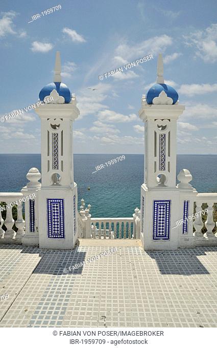 Balcón del Mediterráneo, balcony of the Mediterranean Sea, Benidorm, Costa Blanca, Spain, Europe