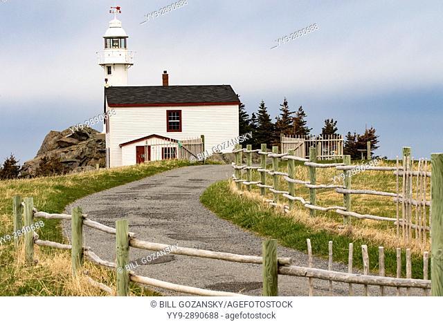 Lobster Cove Head Lighthouse - Gros Morne National Park, Rocky Harbour, Newfoundland, Canada