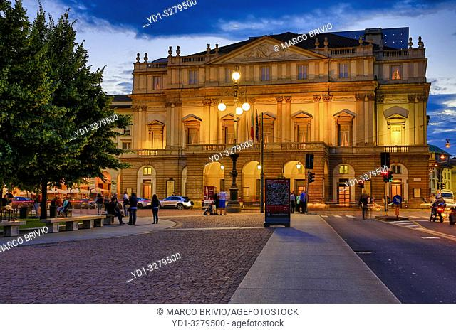 La Scala, official name Teatro alla Scala is an opera house in Milan, Italy. The theatre was inaugurated on 3 August 1778 and was originally known as the Nuovo...