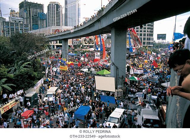 Edsa II 2001, Philippines
