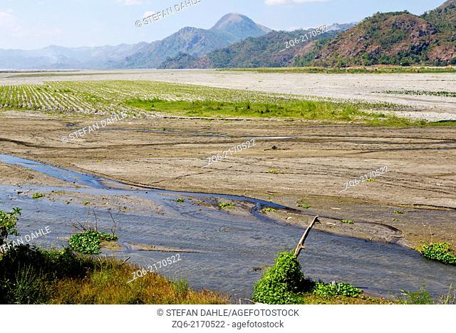 Landscape around the Volcano Pinatubo, Luzon, Philippines
