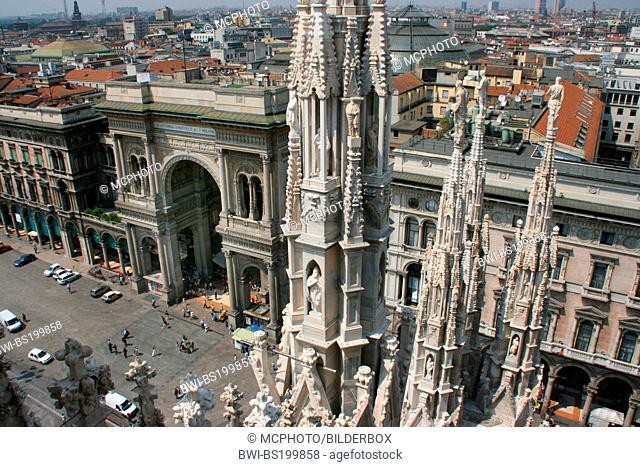 Galleria Vittorio Emanuele II, Italy, Lombardy, Milan