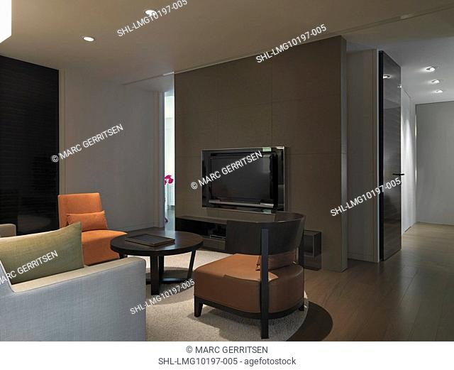 Small living room in modern home