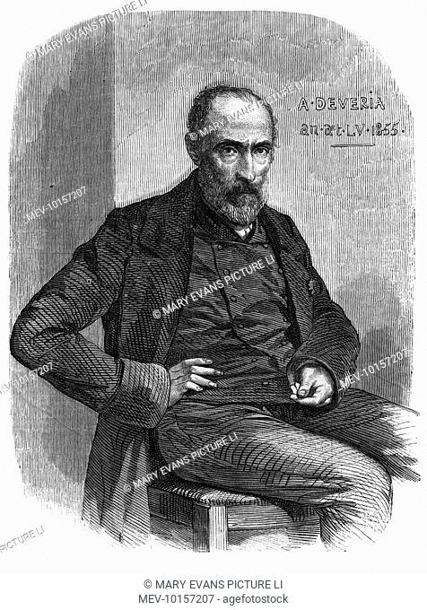 JACQUES JEAN ACHILLE DEVERIA French artist