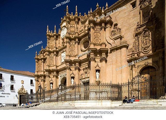 Cathedral, Guadix. Granada province, Andalucia, Spain