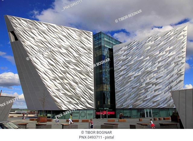 UK, Northern Ireland, Belfast, Titanic Belfast