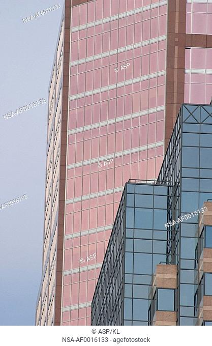 High rise office building in Montreal, Canada