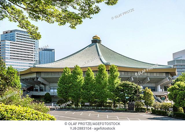 Nihon Budokan (Nippon Budokan) indoor arena inside Kitanomaru Park, Chiyoda, Tokyo, Japan