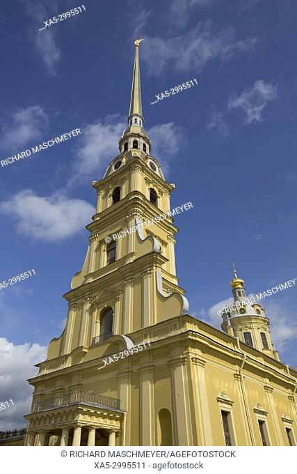 SS Peter and Paul Cathedral, St Petersburg, UNESCO World Heritage Site, Russia