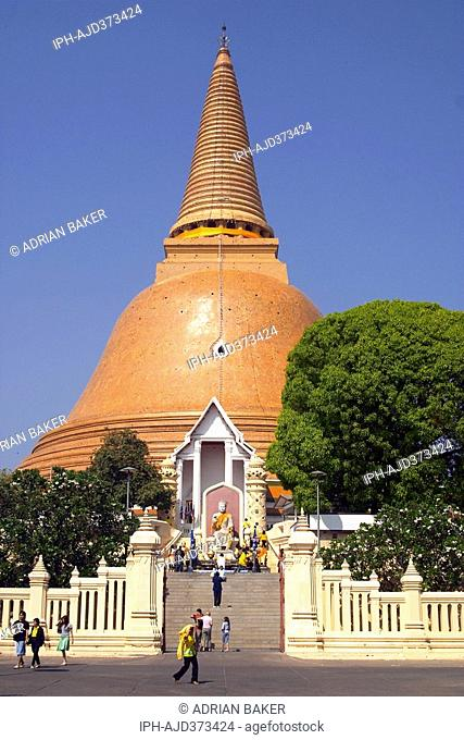 Phra Pathom Chedi - Thailand's largest Stupa at Nakhorn Prathom