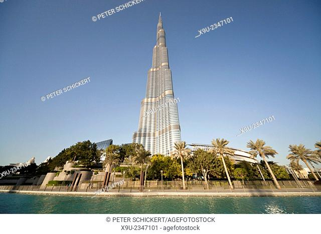 Burj Khalifa, Dubai, Emirate of Dubai, United Arab Emirates, Asia