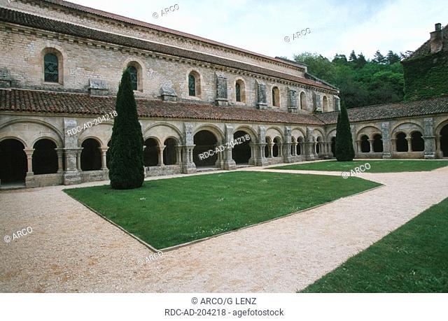 Cistercian Abbey Fontenay, Burgundy, France