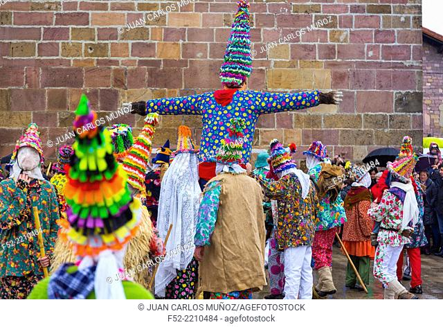 Carnival in Lantz, Navarre, Spain