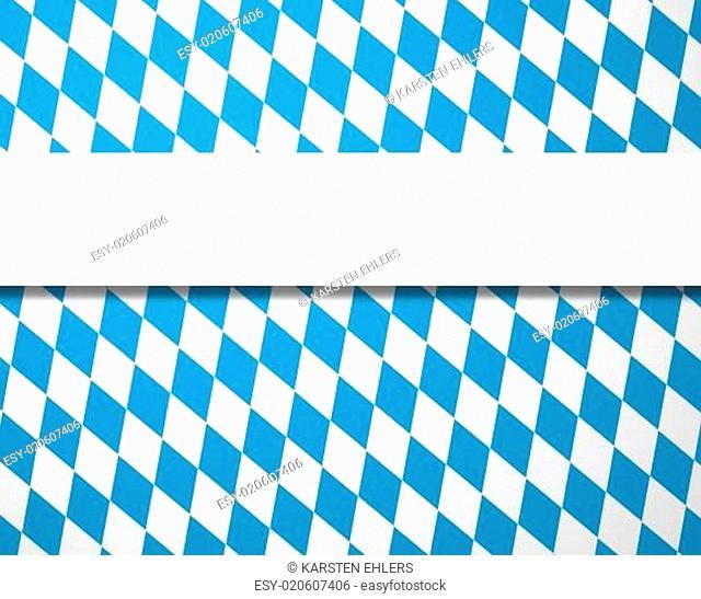 Blaue weißes Rautenmuster mit Streifen für Text
