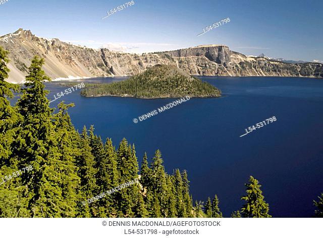 Crater Lake National Park Oregon OR