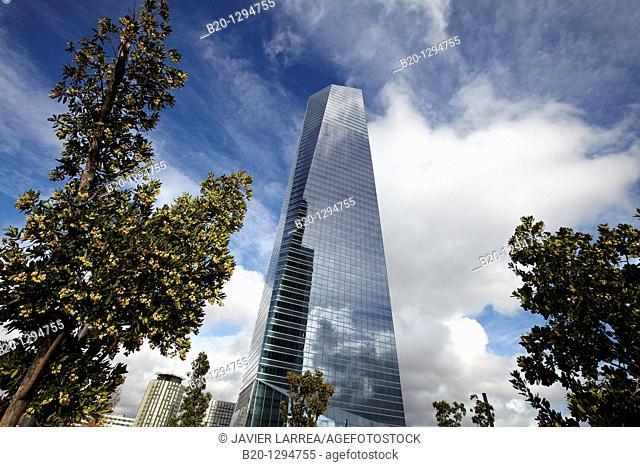 Torre de Cristal, CTBA, Cuatro Torres Business Area, Madrid, Spain