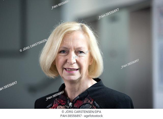 GermanFederalMinister for Education Johanna Wanka arrives to a press conference in Berlin,Germany, 03 April 2013. She will discuss the effects of the...