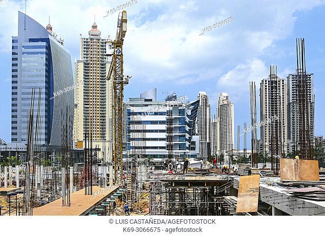 Construction. Panama City. Panama