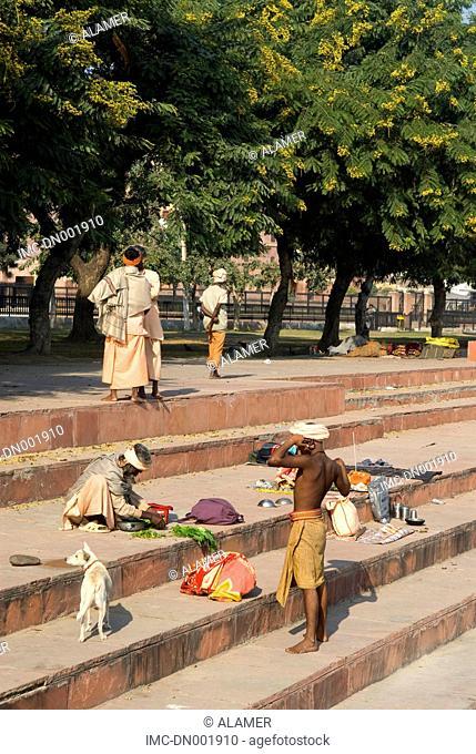 India, Haryana, Kurukshetra, hindu pilgrims