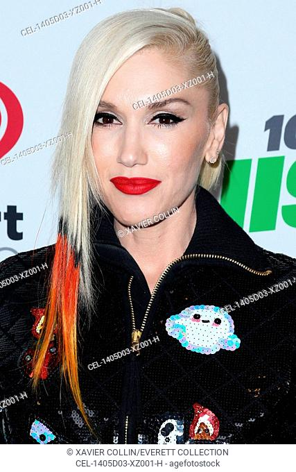 Gwen Stefani in the press room for KIIS FM's Jingle Ball 2014 Powered by LINE – PRESS ROOM, Staples Center, Los Angeles, CA December 5, 2014