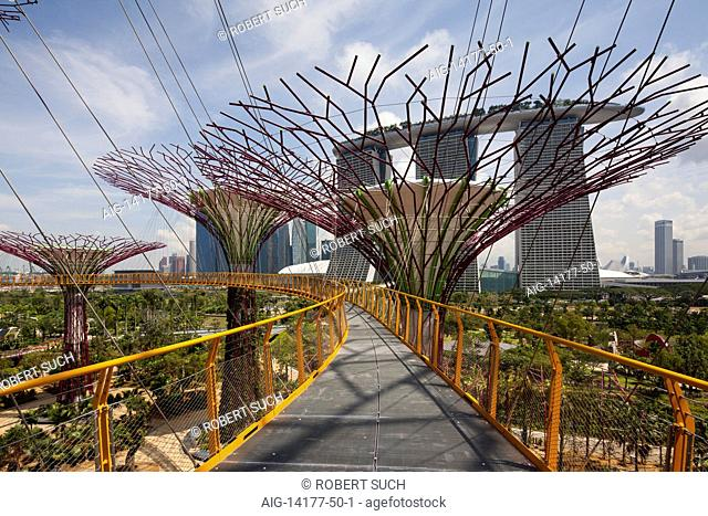 Gardens by the Bay in Singapore. Gardens by the Bay by Grant Associates and Wilkinson Eyre Architects