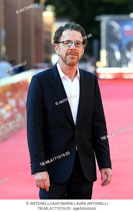 Director Ethan Coen during Rome Film Fest red carpet. Rome Italy, 17-10-2019
