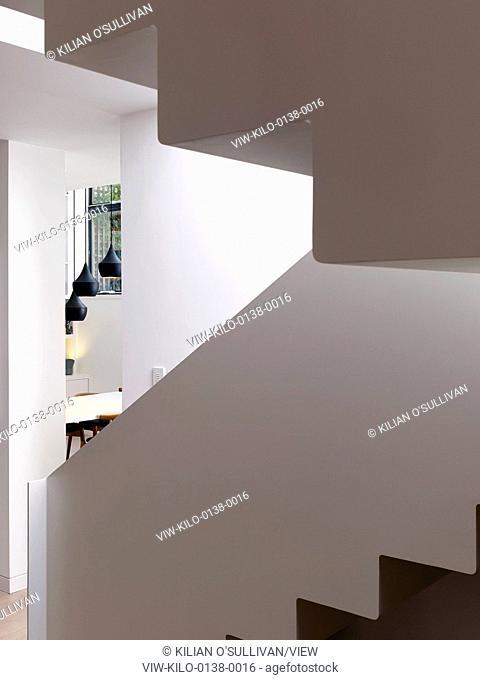 Stair. Bloomsbury House, london, United Kingdom. Architect: Stiff + Trevillion Architects, 2014