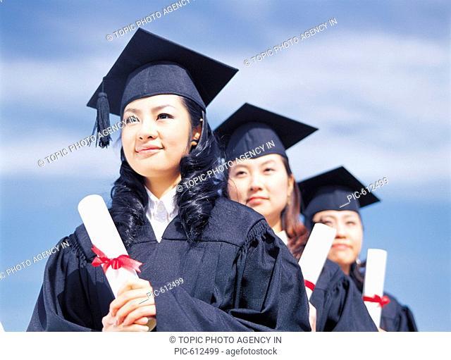 Graduates With Diploma