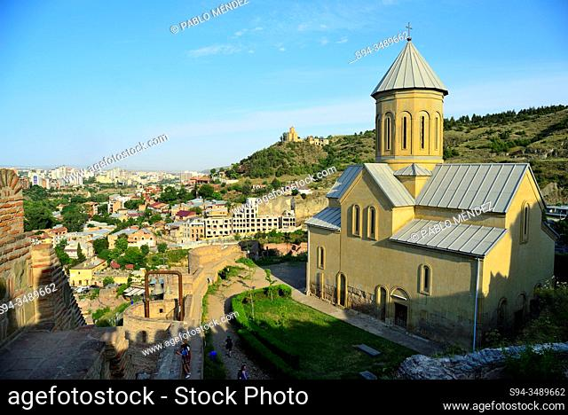 Church of Narikala, Tbilisi, Georgia