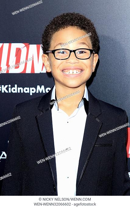 """""""""""""""Kidnap"""""""" Premiere at the ArcLight Theater on July 31, 2017 in Los Angeles, CA Featuring: Sage Correa Where: Los Angeles, California"""