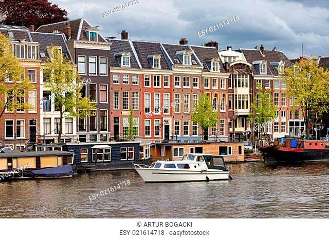 River View of Amsterdam
