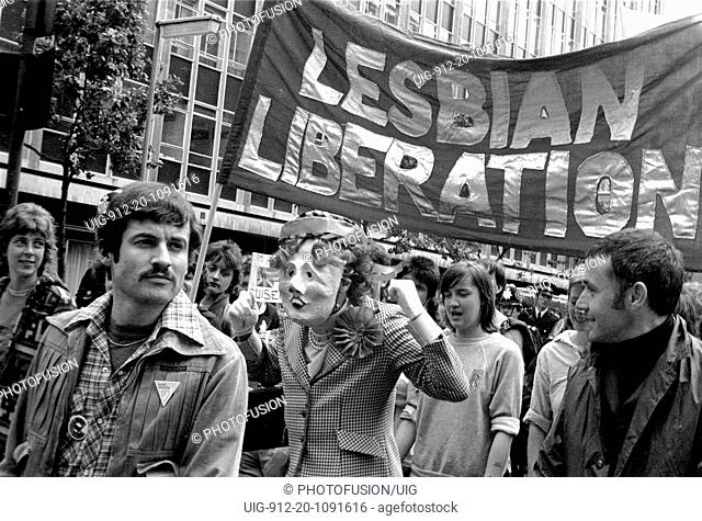 Lesbian and Gay Pride London1980