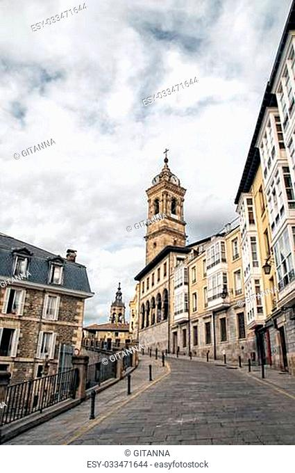 Picture of the city of Vitoria-Gasteiz