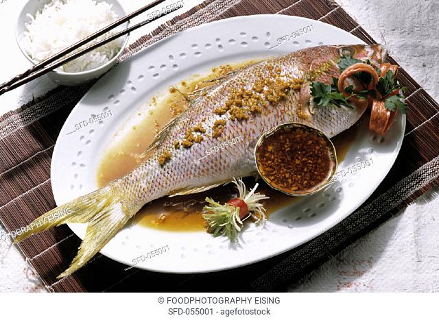 Bream with Ginger Sauce