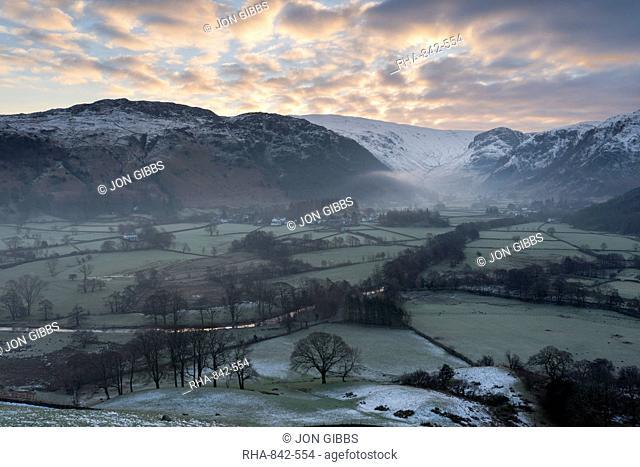 Borrowdale, Lake District National Park, Cumbria, England, United Kingdom, Europe